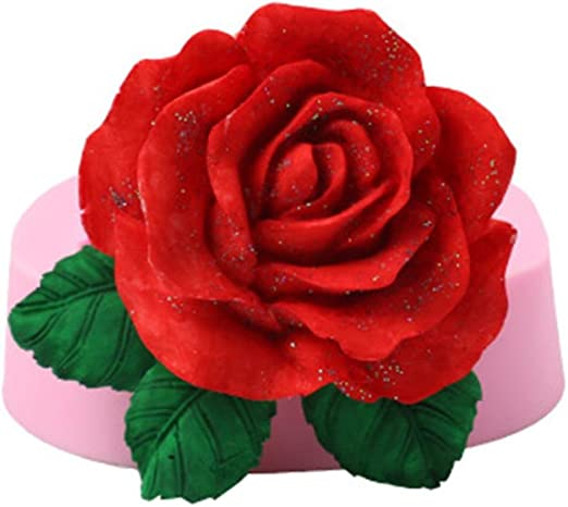 3D Rose Flower Silicone Fondant Mold Cake Decor Chocolate Mould  SELL Sale