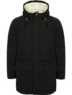 6dcd0813f3a2 Tokyo Laundry Mens Jacket Parka Coat Hooded Sherpa Lined Heavy Fish Tail  Winter