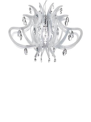 Slamp Lampada a Sospensione Lillibet bianco 66 cm: Amazon.it ...