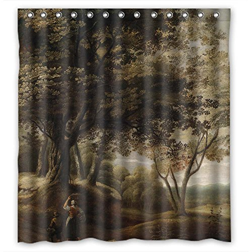 zeezon-polyester-beautiful-scenery-landscape-painting-bathroom-curtains-width-x-height-72-x-72-inche