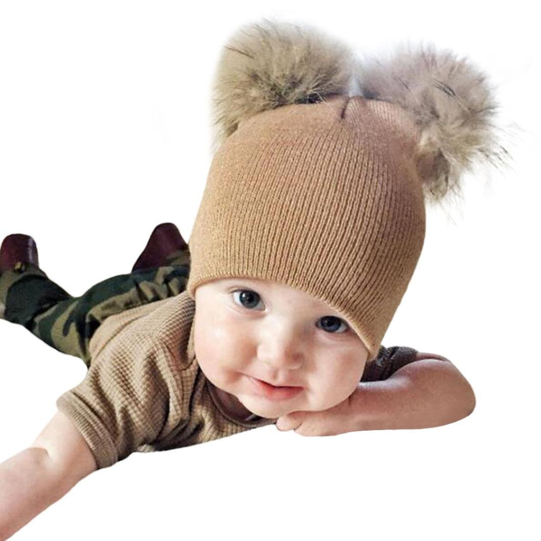 Amazon Dmzing Infant Kids Baby Girls Boys Crochet Knit Winter