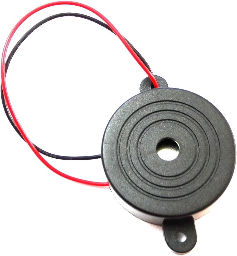 Aerzetix Summer Buzzer Für Vergessen Scheinwerfer Kontrollleuchte Blinker Akustisches Oder Vorrichtung 3 24v 6v 12v 100db 41 5 X 16mm Auto
