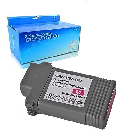Teng® PFI-107 - Cartuchos de Tinta para Impresora Canon IPF ...
