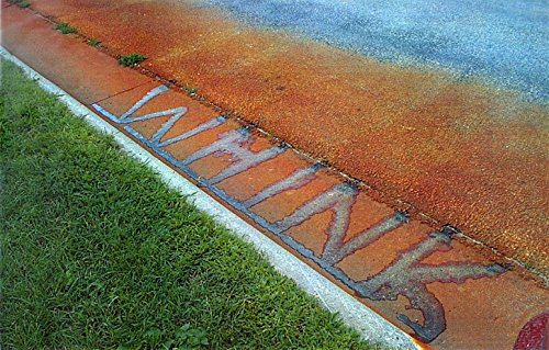 Whink Rust Stain Remover - stains on road