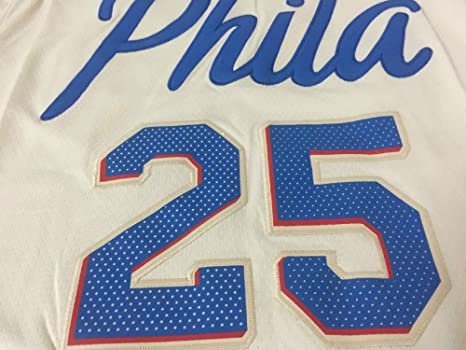 new style 967f9 f1b97 Ben Simmons,Basketball Jersey,76ers,City Edition,New Fabric ...