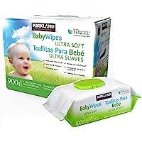 Toallitas Humedas premium Para Bebe Kirkland 900 Pzs (9 paqutes de 100 piezas en cada paquete)
