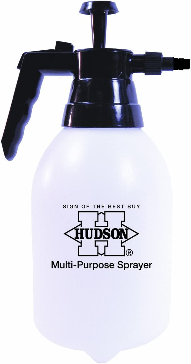 HD Hudson 100087722 Hudson 79142 Multi-Purpose 2-Liter Hand Pump Sprayer, 2 Litre, White