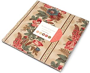 """Southern Exposure Layer Cake, 42 - 10"""" Precut Fabric Quilt Squares By Laundry Basket Quilts"""