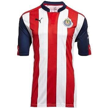 af0e5a5d180 Amazon.com : Puma 16/17 Chivas Home Replica Jersey : Clothing