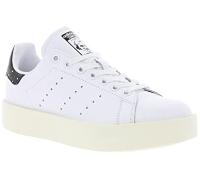 Femme Baskets | Adidas Stan Smith Bold W sneakers Blanc