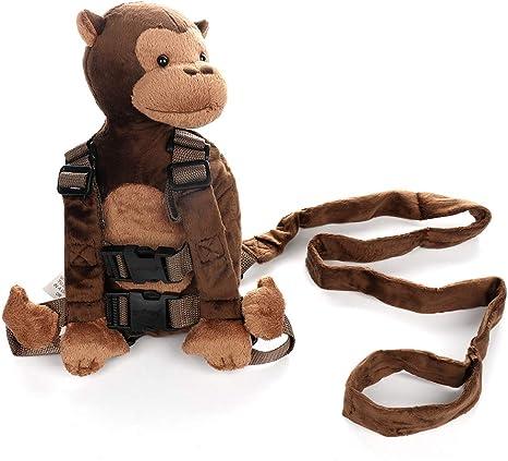 LouisaYork - Mochila para bebé, diseño de dibujos animados, mono ...