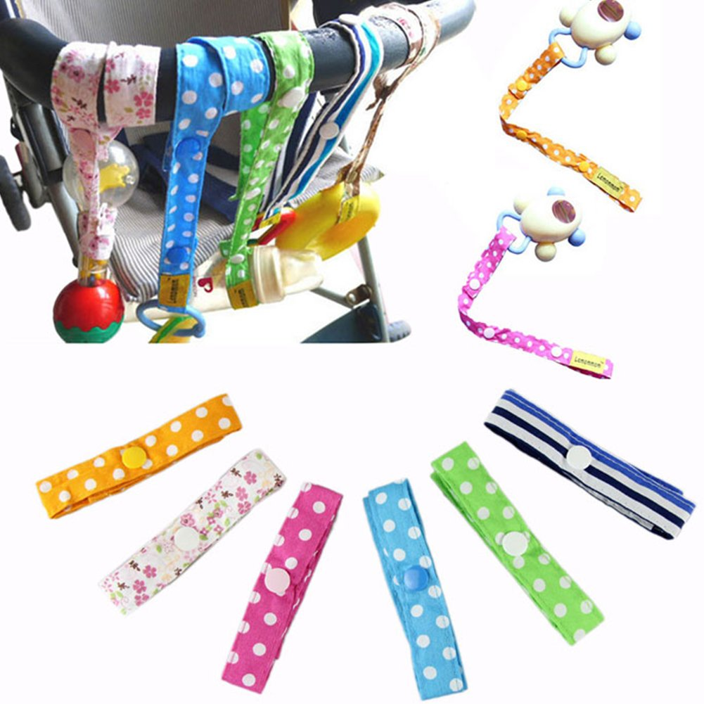 Toy Harness Strap Saver Sitter Clip with Button Anti Lost Stroller Straps Accessories Toy Baby Cute Straps For Stroller by Hinmay