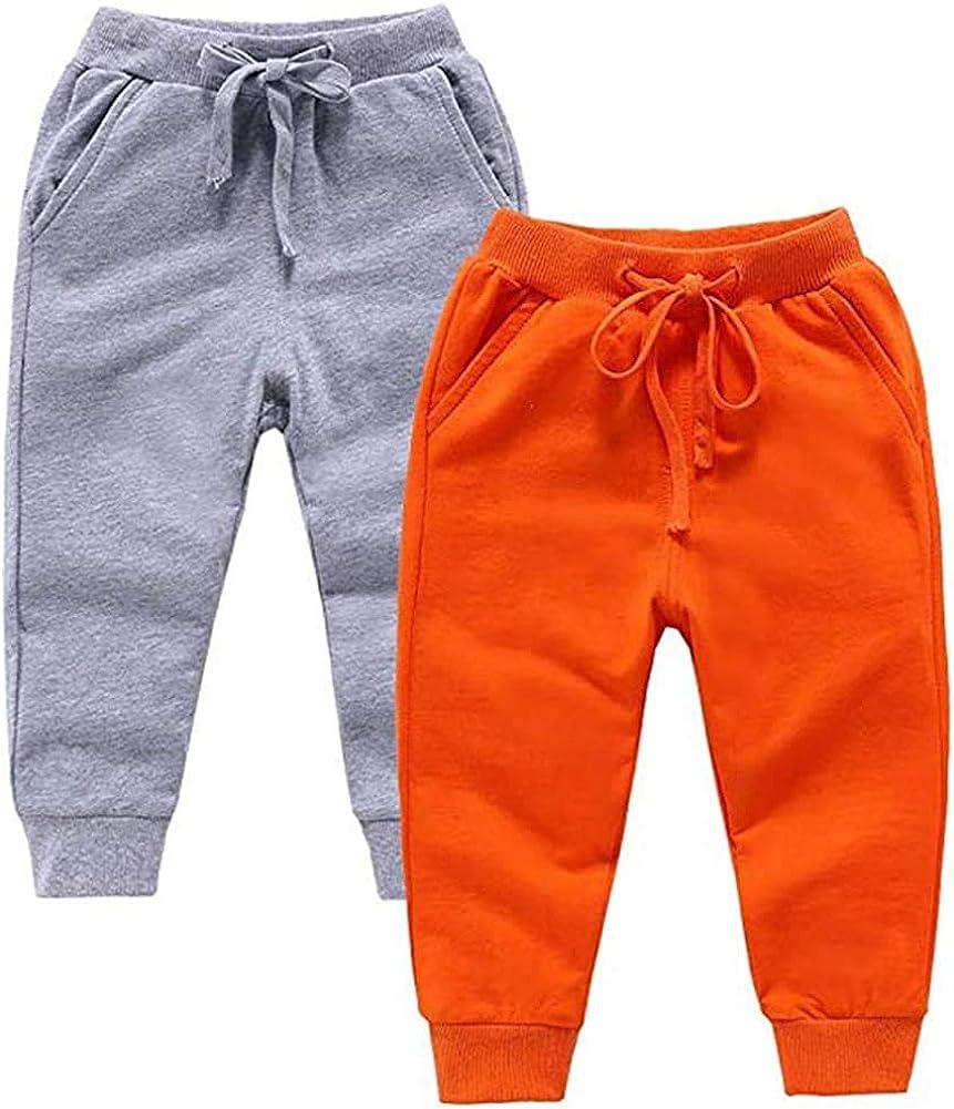 2-6T IEHFE MCNXB Colorful Ppineapple Kids Sweatpants Solf Jogger Pants Active Pants Cotton Pants