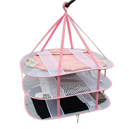 Amazoncom Deliway Large Size Sweater Hanging Dryer 3 Tier Drying