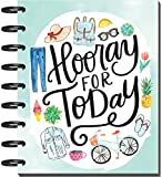Create 365 18 Month Classic Size Happy Planner, Me & My Big Ideas Planner, 9.75i x 7.75in, Dated July 2017-December 2018, Hooray For Today
