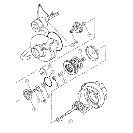 Amazon Com Turbo Rebuild Kit With Oil Water Gasket For Mr2 2 0l