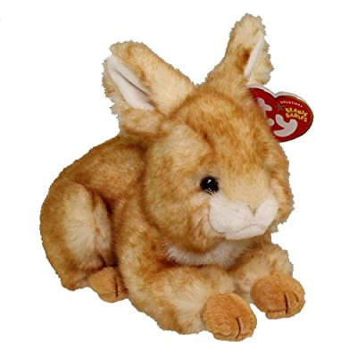 TY Beanie Baby - MINKSY the Bunny: Toys & Games