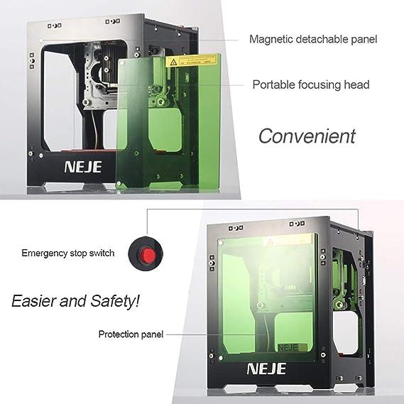 MXECO NEJE DK-8-KZ 1000mW / 2000mW / 3000mW Mini máquina de ...