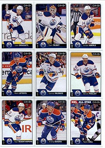 2016-17 O-Pee-Chee Hockey Edmonton Oilers Team Set of 17 ...