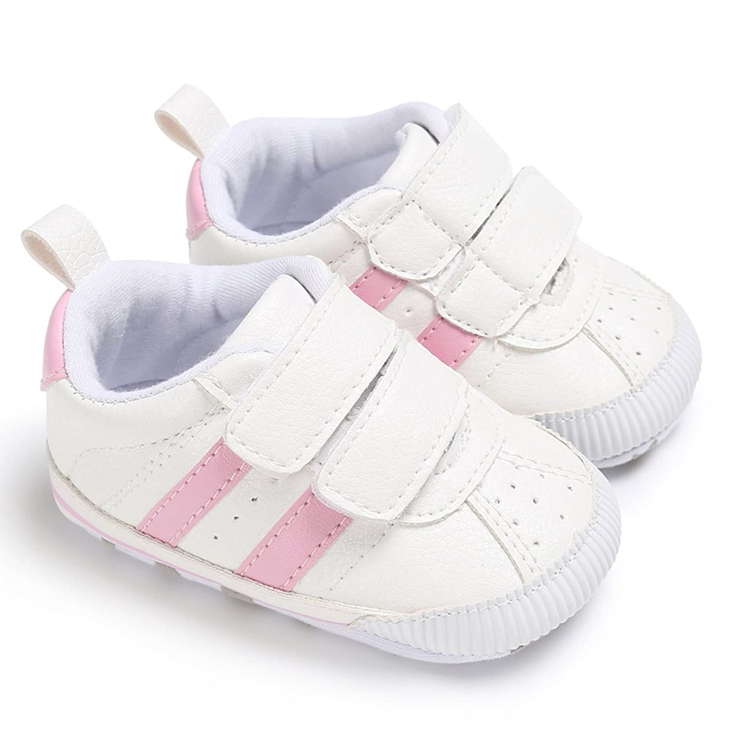 00a62e4b293dd OOSAKU Baby Boy Infant Newborn Soft Sole Leather Sneakers First ...