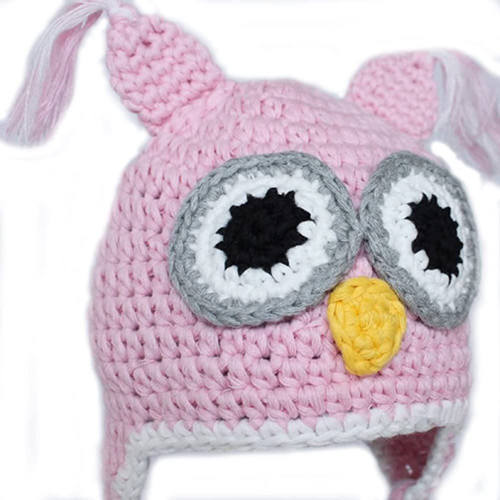 unisex, 0-1 year Handmade Knit Baby Hat