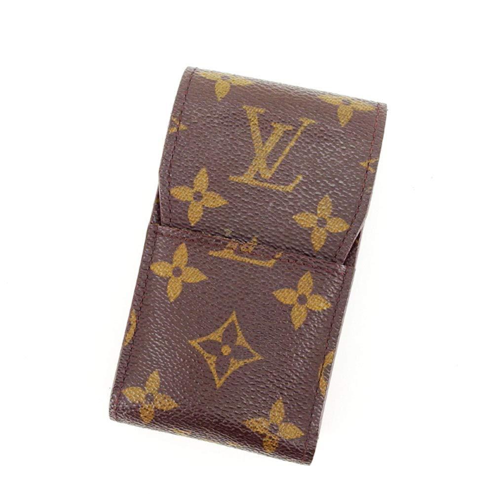 (Louis Vuitton) ルイヴィトン シガレットケース タバコケース メンズ可 エテュイシガレット M63024 モノグラム 中古 L759   B072N33YS3