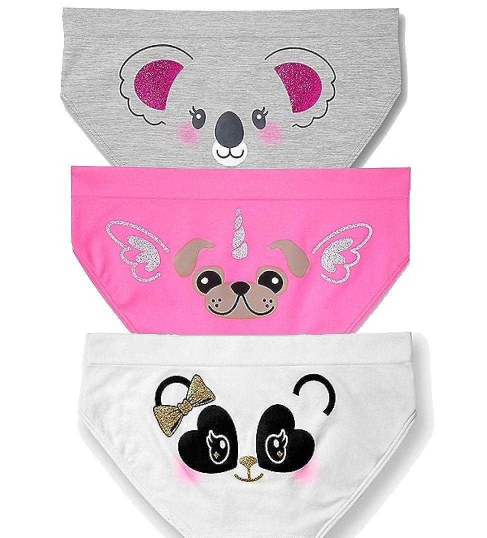 Justice Seamless Bikini Panty Size 20 3-Count