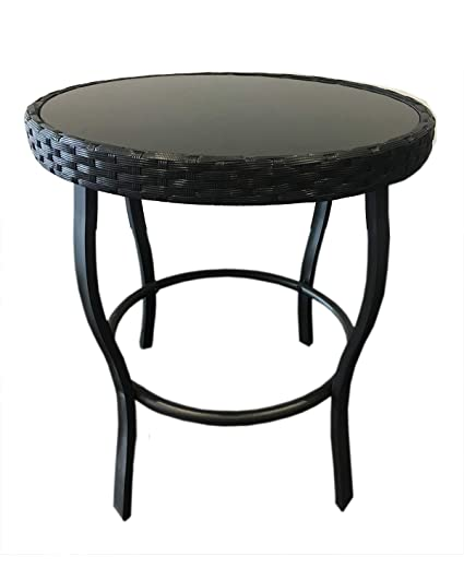 Amazon.com: Solaura Furniture - Mesa de exterior para patio ...