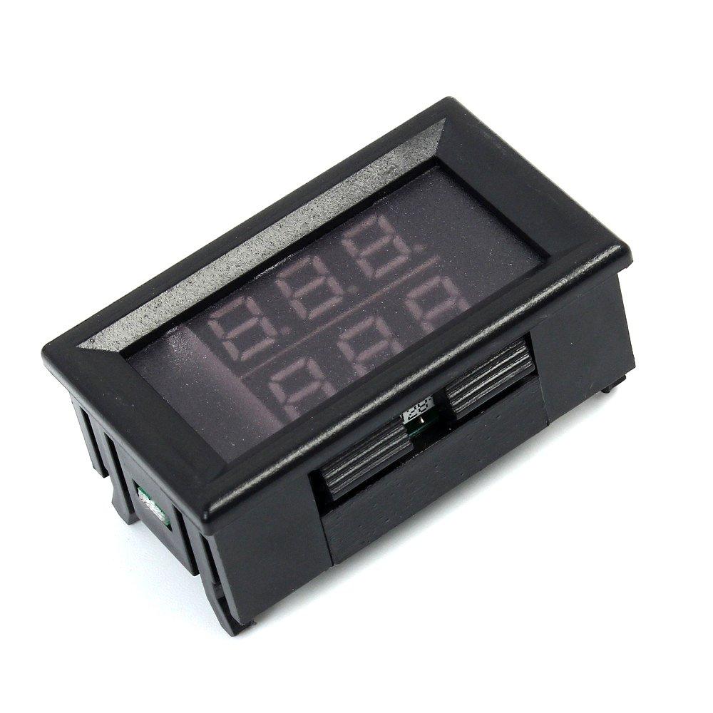 20 ~ 100 gradi Celsius TOOGOO Impermeabile metallo modulo del sensore della sonda 0,56 pollici Rosso Blu doppio display termometro digitale LED tester di temperatura