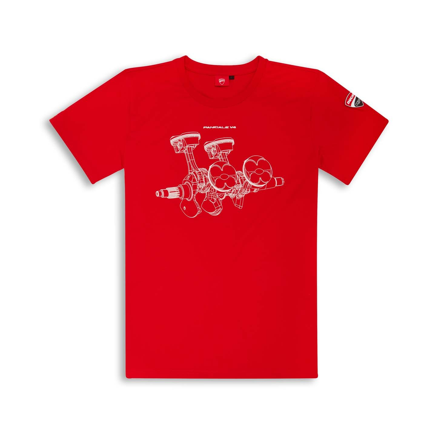 Ducati V4 Panigale T-Shirt - Size Medium