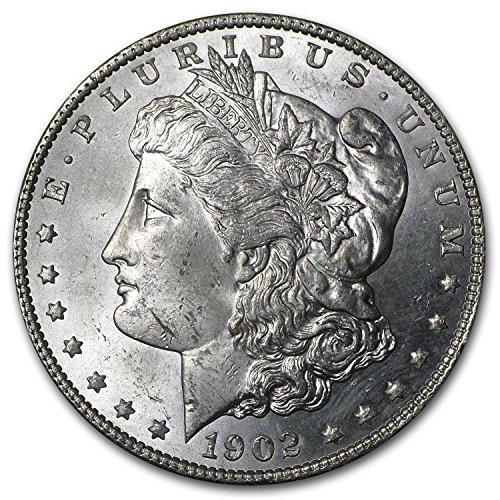 1902 O Morgan Dollar BU $1 Brilliant Uncirculated