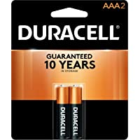 Duracell - CopperTop AAA Alkaline Batteries - long lasting, all-purpose Triple A battery for household and business - 2…