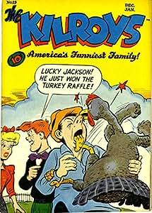 POSTER comics cover American Group ACG Kilroys The Kilroys 15 Vintage Wall Art Print A3 replica