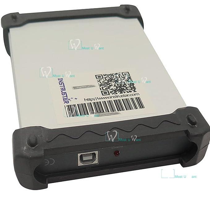 Equipo de prueba digital basado en PC USB osciloscopio virtual de 2 canales 20 MHz 60 MSA/S FFT analizador de espectro de 12 bits ADC: Amazon.es: Bricolaje ...