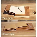 Oak-Pine Vintage Kraft Cover Notebook Drawing