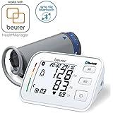 Beurer BM 57 Misuratore di Pressione da Braccio Bluetooth, con Inflation Technology per Misurazioni Rapide e Comode