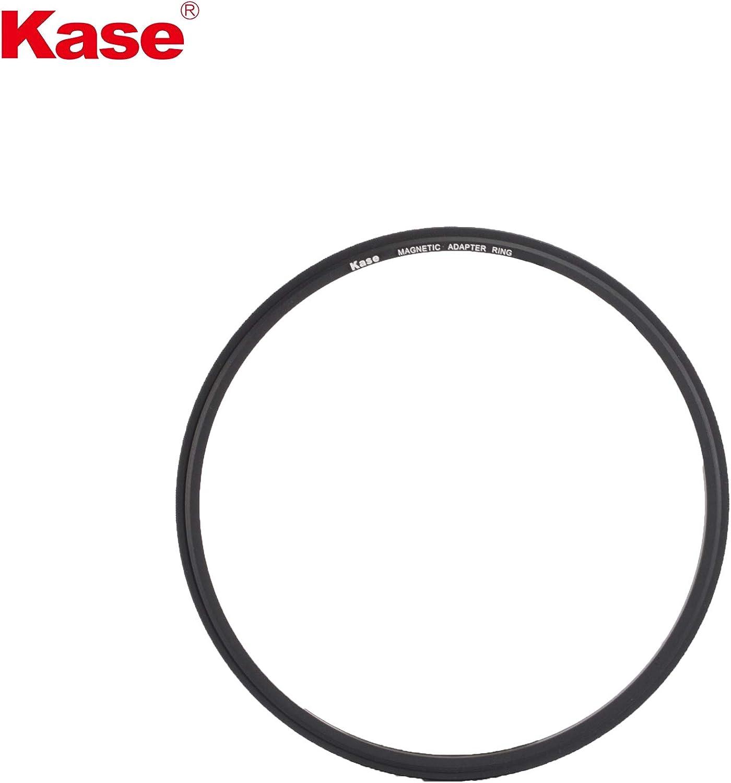 Kase Wolverine 82mm Magnetic Shockproof Tempered Optical Glass Filter Kit Includes Magnetic CPL ND1000 Grad ND0.9 /& Case 82