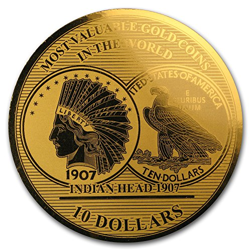 2017 DE Solomon Isl. 1/100 oz Gold Million Dollar Collection (USA 1) Gold Brilliant Uncirculated