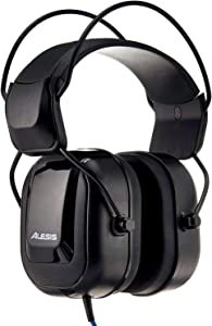 "Alesis DRP100 | Extreme Audio-Isolation Electronic Drum Reference-Headphones with 1/4"" Adapter & Protective Bag"