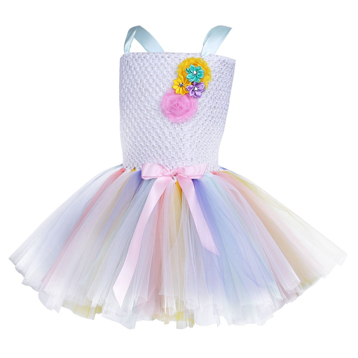 Amazon.com: iEFiEL Girls Ballet Tutu Tulle Dress Birthday Party Costume Kids Princess Pageant Wedding Bridesmaid Dress: Clothing