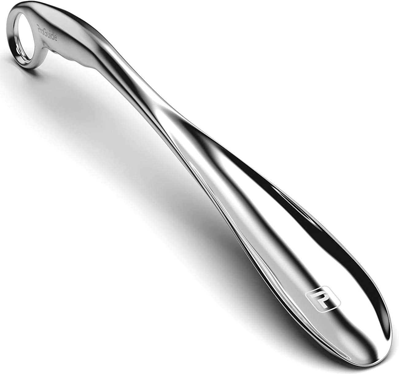 1x Portable Durable Shoehorn Professional Stainless Steel Silver Shoe Horn N/_sh