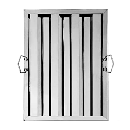 New Star Foodservice 54316 Stainless Steel Hood Filter 16 W X 20 H