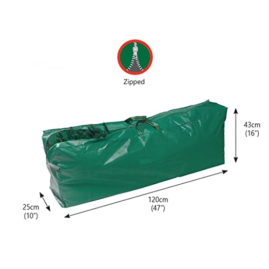 under cover artificial christmas tree storage bag best on amazon green 100 - Christmas Tree Covers For Storage