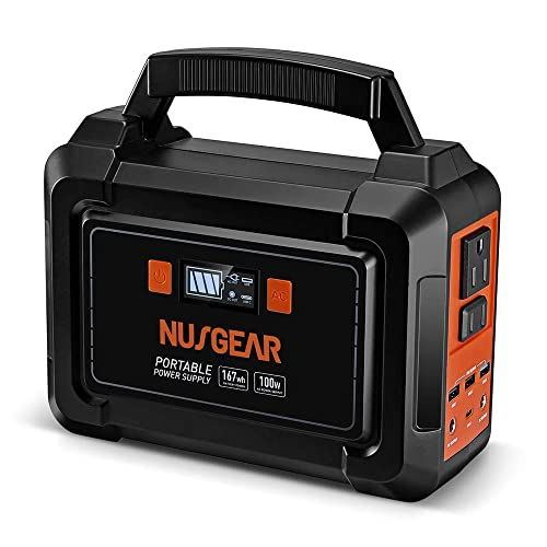 NusGear 167Wh Portable Power Station