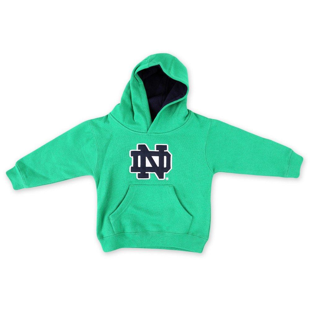 3cab023c182c Amazon.com : Elite Fan Shop Notre Dame Fighting Irish Kids Hoodie Sweatshirt  Green : Clothing