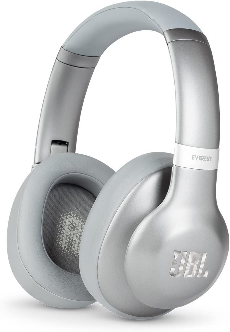 JBL Everest 710 Silver Over-Ear Wireless Bluetooth Headphones (Silver)