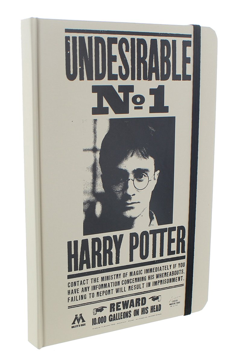 Harry Potter Wanted: Undesireable #1 Journal