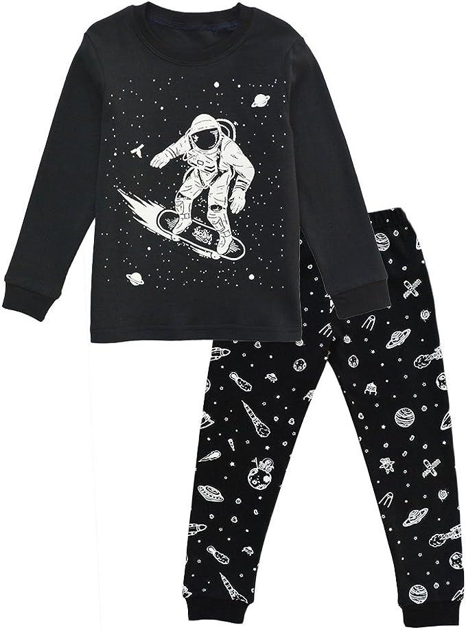 Pant Set Sleepwear Pjs Pyjama Size 2T-7 New Baby Toddler Boy Kid Pajamas Shirt