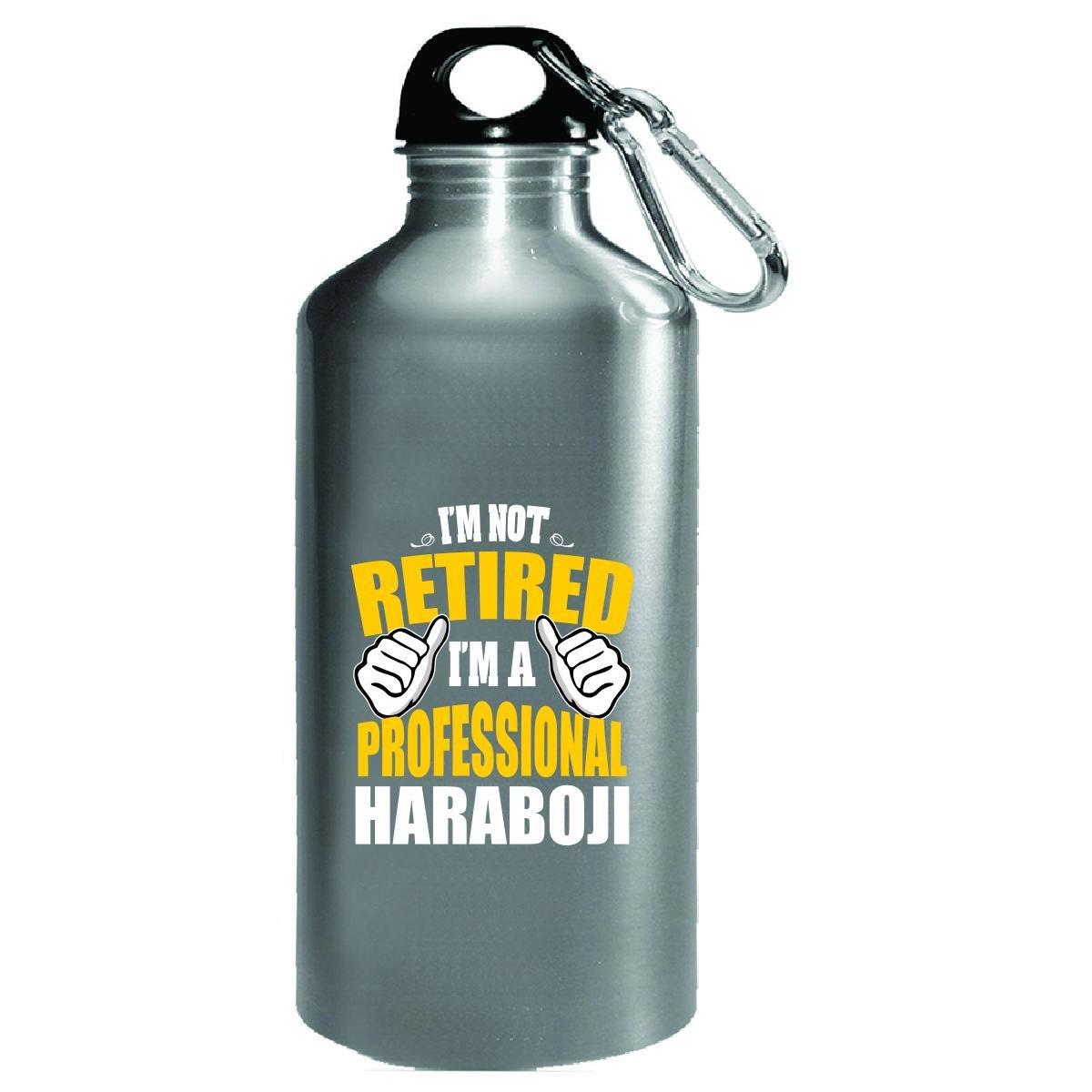Amazon Com Not Retired Haraboji Grandpa In Korean Water Bottle