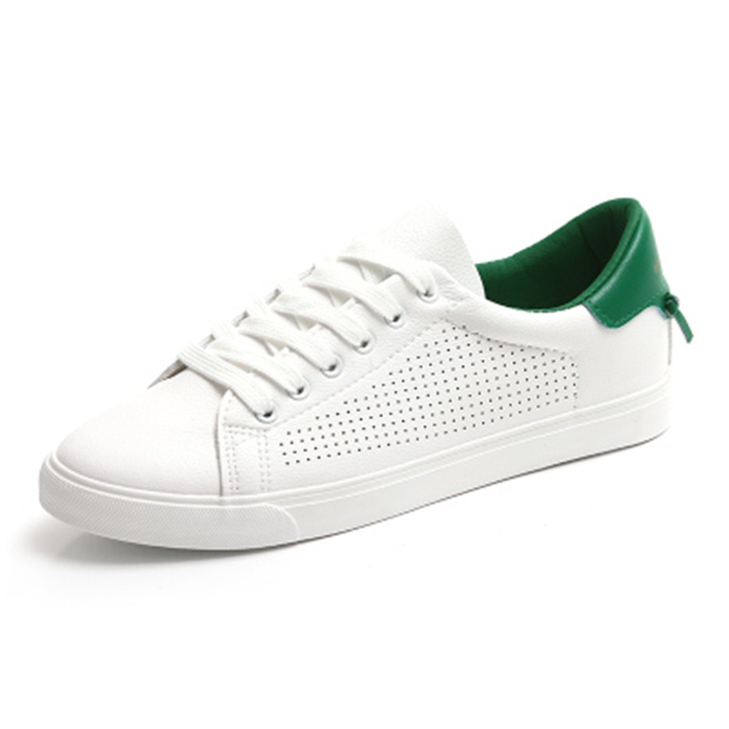 b5ad86a1e0da Better Annie Women White Shoes With Holes Leather Famous Brand Female  Casual Shoes Tails New Fashion